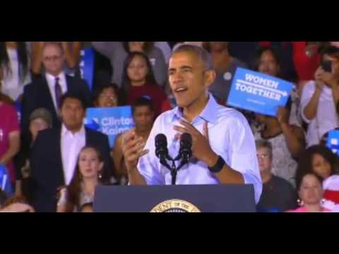 "President Obama RIPS Donald Trump in Las Vegas FULL Speech ""We Can't Afford The Other Guy"" 10/23/16"