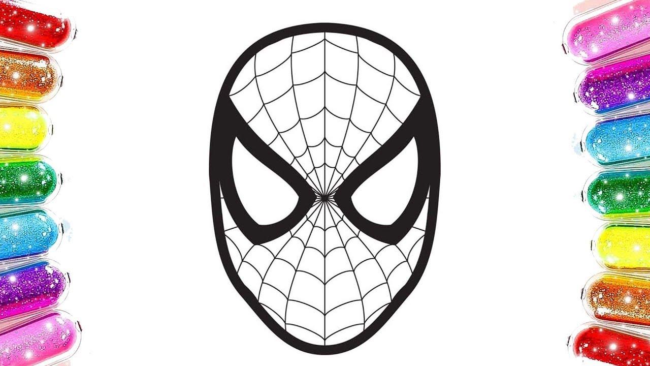 Spiderman örümcek Adam Boyama Renkleri öğreniyorum Youtube