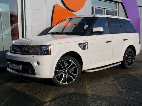 2010 range rover sport hse 3 6tdv8 white for sale in. Black Bedroom Furniture Sets. Home Design Ideas
