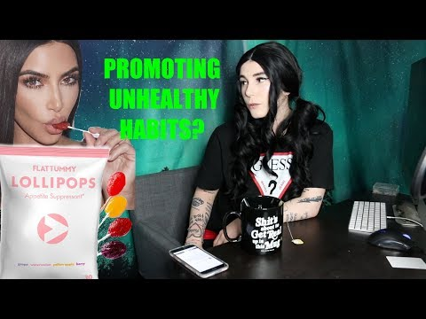 Kim Kardashian's Lollipop Ad - MY TAKE ON IT