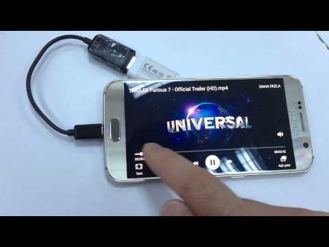 Android telefona flash bellek bağlama