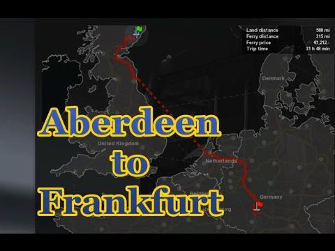 ETS2 : Duck & Bandit - Aberdeen To Frankfurt (Timelapse)