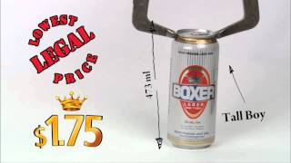 Boxer Lager Beer - Ontario Helicopter Tall Boy Lcbo Ontario