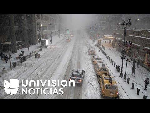 Extrema ola de frío en EEUU: Muertes, inundaciones, accidentes y falta de electricidad