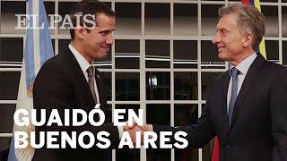 CRISIS VENEZUELA | GUAIDÓ promete en Buenos Aires nuevas movilizaciones contra MADURO