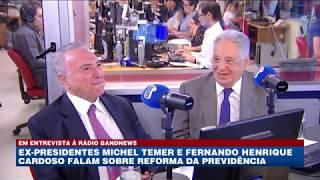 Oinegue entrevista Michel Temer e Fernando Henrique Cardoso