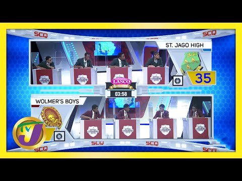 St. Jago High vs Wolmer's Boys   TVJ SCQ 2021
