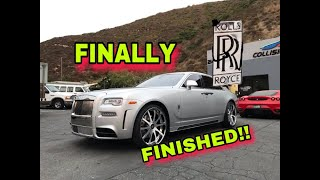 REBUILDING A WRECKED ROLLS ROYCE GHOST MANSORY PART 4