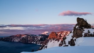 Crater Lake - April 30, 2016 - Overnight Time Lapse