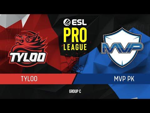 CS:GO - Tyloo vs. MVP PK [Inferno] Map 1 - Group C - ESL Pro League Season 9 APAC