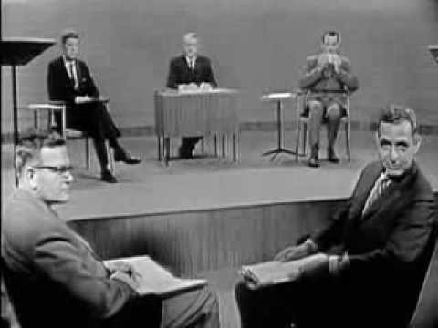 1960 PRESIDENTIAL DEBATE #1 (JOHN F. KENNEDY VS. RICHARD NIXON)(9/26/60)