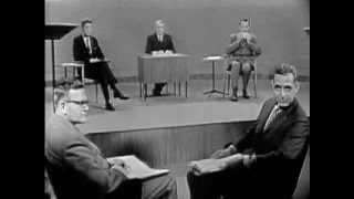 1960 PRESIDENTIAL DEBATE #1 (JOHN F. KENNEDY VS. RICHARD NIXON) (9/26/60)