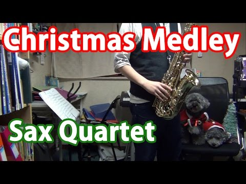 Christmas Medley on Sax Quartet