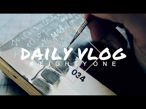 VLOG 81 | drawing dreams & a creative day in the studio