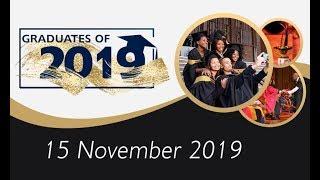 Summer Graduations: Pretoria, 15 November 2019