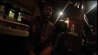 joey bada cj fly spit an amazing impromptu freestyle on the tour bus