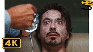 Обадайя Стейн парализует Тони Старка | Железный человек (2008) HD