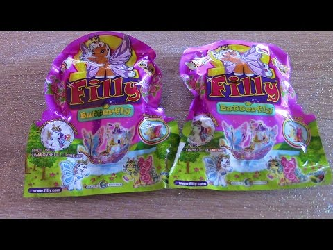 Filly butterfly pony blind bag - Toys to collect (simil my little pony with wings)