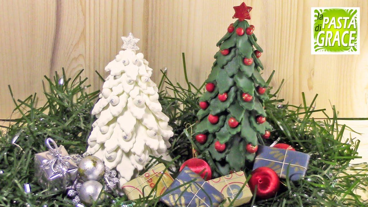 Lavoretti Di Natale Con La Pasta Di Mais.Tutorial Albero Di Natale In Pasta Di Mais Youtube