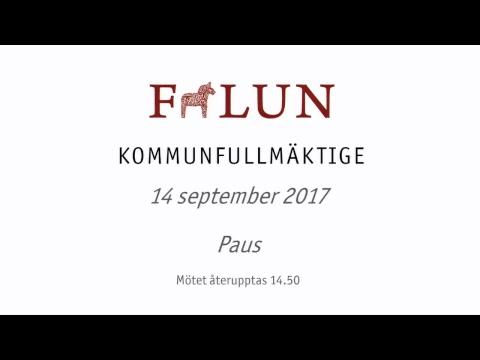 Falu kommunfullmäktige 14 september