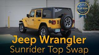 Jeep Wrangler | Sunrider Top Swap