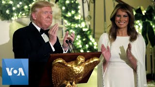 Trump, First Lady Host Congressional Ball at the White House