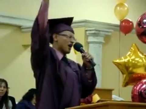 Jacob Santiago & Heart Of Worship Mizpa Graduation 2009.flv
