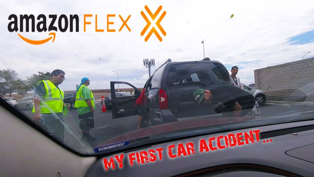 first day at amazon flex las vegas my first car accident ever day 17 032 youtube first day at amazon flex las vegas my first car accident ever day 17 032