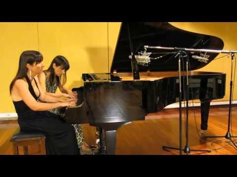 Paula & Fabiana Chávez, piano a 4 manos (Ravel: Ma mère l'oye   Le Jardin Féerique)