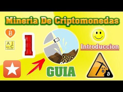 Mineria De Criptomonedas (Guia)  1.Introduccion A La Mineria