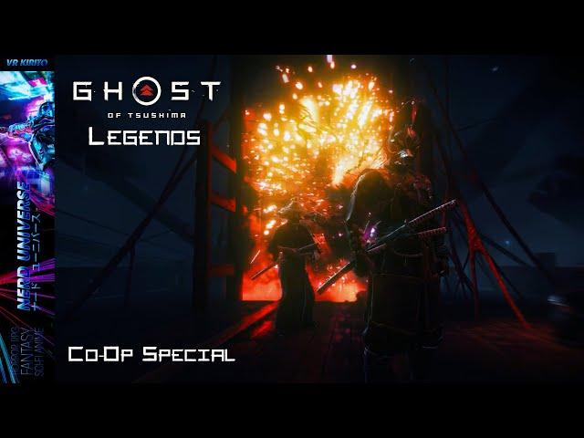 Ghost Of Tsushima - Legends Co-Op Special - Assa + Ronin - Story - ☯ 1440p [Deutsch] PS4 Pro