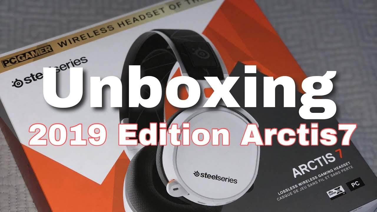 f4a91781be1 UNBOXING 2019 Edition Arctis 7 Wireless Gaming-headphone from Steel Series
