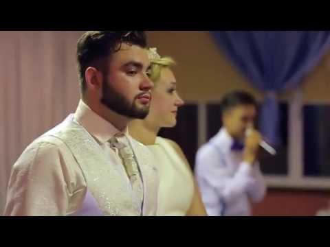 Трогательные слова ведущего на свадьбе Анастасия Милованова и Ринат Каримов