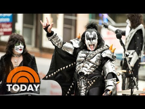 KISS Controversy: Can Gene Simmons Trademark A Hand Gesture? | TODAY