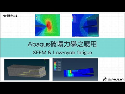 Abaqus 破壞力學之應用:XFEM & Low Cycle Fatigue