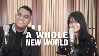 Download Lagu A Whole New World - Peabo Bryson, Regina Belle (Cover) By Hanin Dhiya & Andmesh