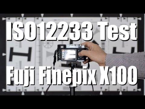 Fuji X100 - ISO 12233 Resolution Test - Nikon D7000 - FULL HD - 1080p