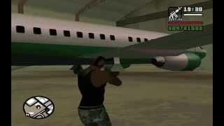 GTA San Andreas - AT-400 [Самый Большой Самолёт]