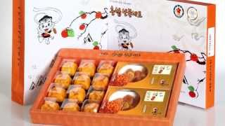 Semi-dried persimmon, Dried food, Dried fruit, Persimmon, dried persimmon by Doju Farm / 도주영농조합
