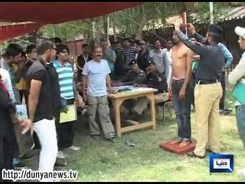 Dunya News - Thousands try their luck for Railway Police's vacant ASI posts