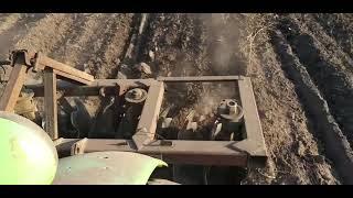 Дисковка ділянок на трактор Т40 2019. Частина 1