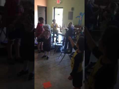 Caleb mozart violin party