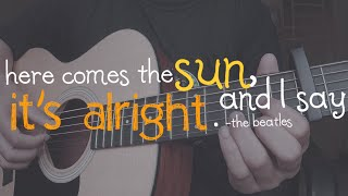 Here comes the sun (The Beatles) - Fingerstyle cover