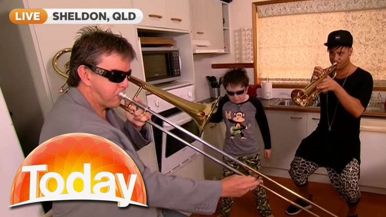 Timmy Trumpet Joins Oven Boy For A Today Show Jam Today Show