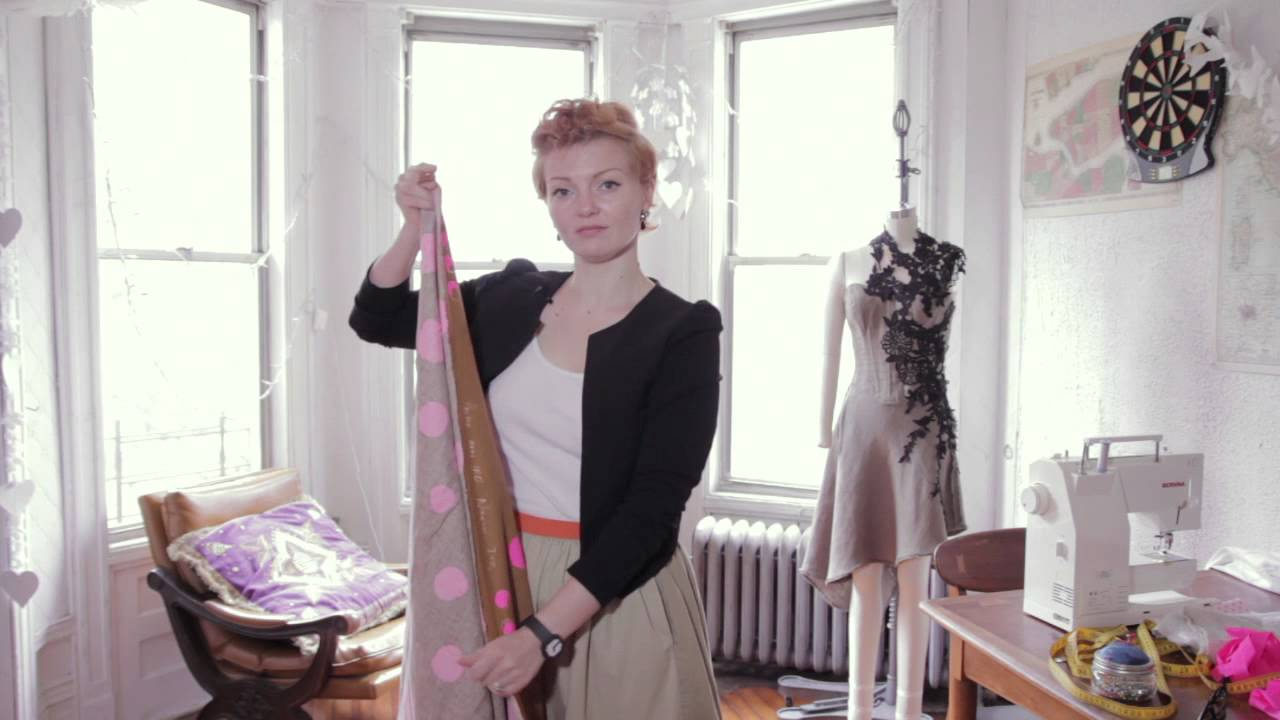 The Easiest Way to Cut Fabric for a Simple Shift Dress : Fashion ...