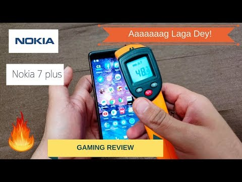 Nokia 7 Plus - Gaming Review In Hindi | Garma Garam Phone!