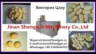 экструдер /оборудование  Кукурухные шарики закуски пыхтел пищь