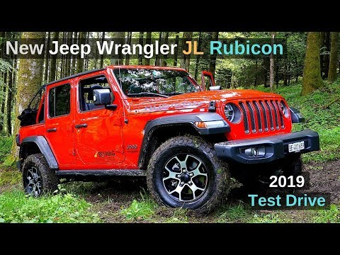 New Jeep Wrangler JL Rubicon 2019 Review and Test Drive plus Off Road German Version