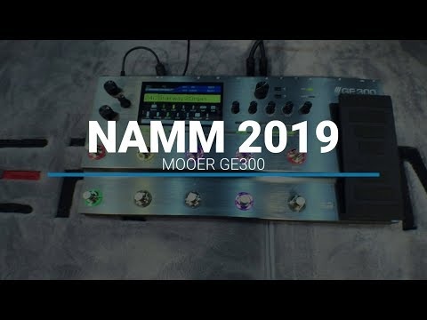 NAMM 2019: Mooer GE300 - YouTube