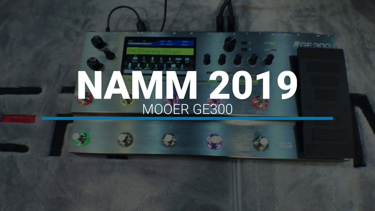 NAMM 2019: Mooer GE300